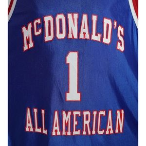 McDonalds Shirts - Tracy Mc Grady McDonald's All American Jersey XXL